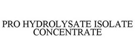 PRO HYDROLYSATE ISOLATE CONCENTRATE
