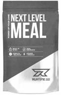 NEXT LEVEL MEAL RUNTIME.GG POWER UP YOUR GAME READY IN 60 SEC. TOTAL ENDURANCE COMPLETE + BALANCE VITAMINS + MINERALS