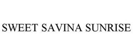 SWEET SAVINA SUNRISE