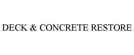 DECK & CONCRETE RESTORE