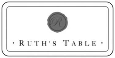 R · RUTH'S TABLE ·