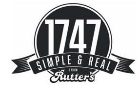 1747 SIMPLE & REAL FROM RUTTER'S