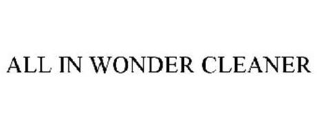 ALL IN WONDER CLEANER