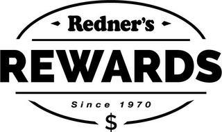 REDNER'S REWARDS SINCE 1970