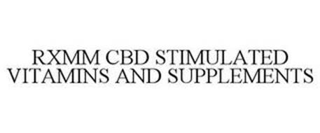 RXMM CBD STIMULATED VITAMINS AND SUPPLEMENTS