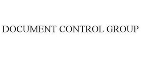 DOCUMENT CONTROL GROUP