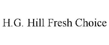 H.G. HILL FRESH CHOICE