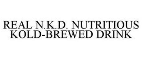 REAL N.K.D. NUTRITIOUS KOLD-BREWED DRINK
