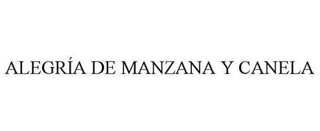 ALEGRÍA DE MANZANA Y CANELA