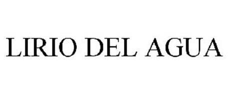 LIRIO DEL AGUA