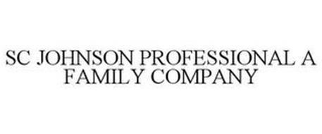 SC JOHNSON PROFESSIONAL A FAMILY COMPANY