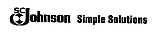 SC JOHNSON SIMPLE SOLUTIONS