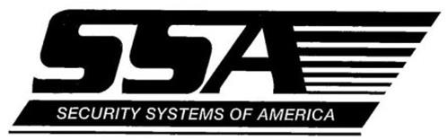 Delightful SSA SECURITY SYSTEMS OF AMERICA