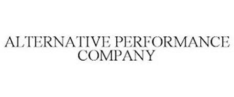 ALTERNATIVE PERFORMANCE COMPANY