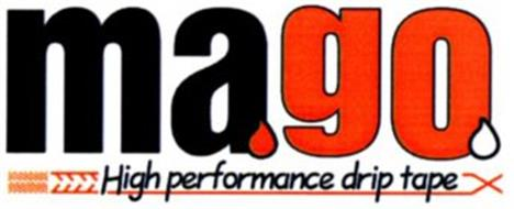 MAGO HIGH PERFORMANCE DRIP TAPE