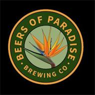 BEERS OF PARADISE · BREWING CO ·