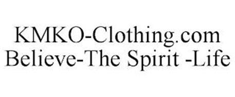 KMKO-CLOTHING.COM BELIEVE-THE SPIRIT -LIFE