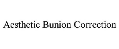 AESTHETIC BUNION CORRECTION