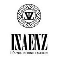 ZIZ ISAENZ IT'S YOU BEHIND FASHION