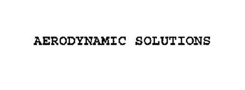 AERODYNAMIC SOLUTIONS