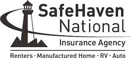 SAFEHAVEN NATIONAL INSURANCE AGENCY RENTERS · MANUFACTURED HOME · RV · AUTO
