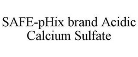 SAFE-PHIX BRAND ACIDIC CALCIUM SULFATE