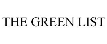 THE GREEN LIST
