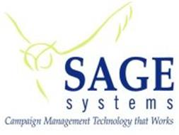 SAGE SYSTEMS CAMPAIGN MANAGEMENT TECHNOLOGY THAT WORKS