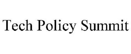 TECH POLICY SUMMIT