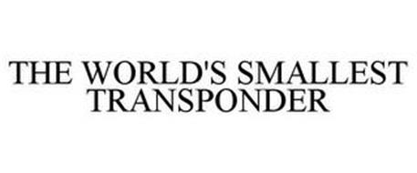 THE WORLD'S SMALLEST TRANSPONDER