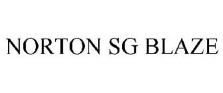 NORTON SG BLAZE