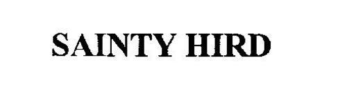 SAINTY HIRD