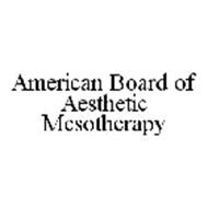 AMERICAN BOARD OF AESTHETIC MESOTHERAPY