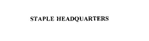 STAPLE HEADQUARTERS