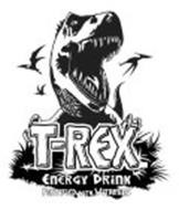 T-REX ENERGY DRINK FORTIFIED WITH VITAMINS