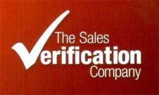 THE SALES VERIFICATION COMPANY