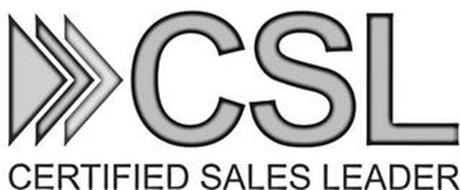 CSL CERTIFIED SALES LEADER