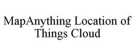MAPANYTHING LOCATION OF THINGS CLOUD