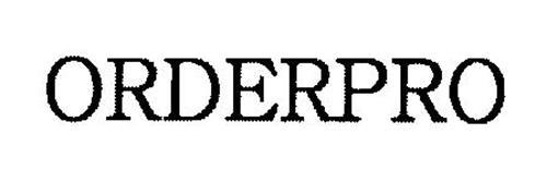 ORDERPRO