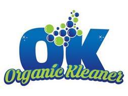 OK ORGANIC KLEANER