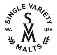 SVM SINGLE VARIETY MALTS WA USA