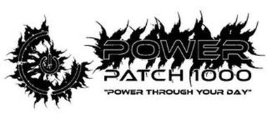 "POWER PATCH 1000 ""POWER THROUGH YOUR DAY"""