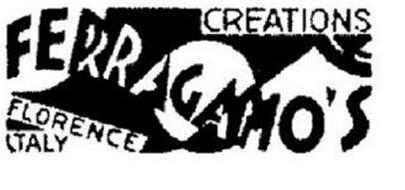 FERRAGAMO'S CREATIONS FLORENCE ITALY