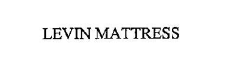 LEVIN MATTRESS Trademark of Sam Levin Inc Serial Number