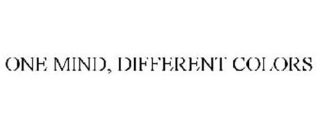 ONE MIND, DIFFERENT COLORS