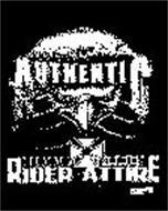 GENUINE AUTHENTIC RIDER ATTIRE G.A.R.A.T.