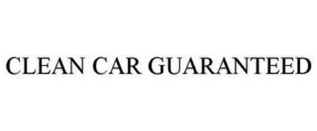 CLEAN CAR GUARANTEED