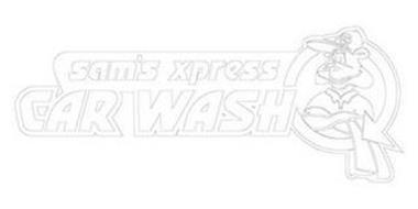 SX SAM'S XPRESS CAR WASH