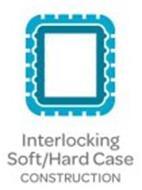 INTERLOCKING HARD/SOFT CASE CONSTRUCTION