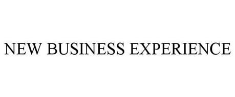 NEW BUSINESS EXPERIENCE